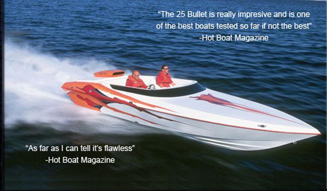 howard boats 25 bullet howard custom boats